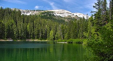 Surprise Lake in the Goat Rocks Wilderness