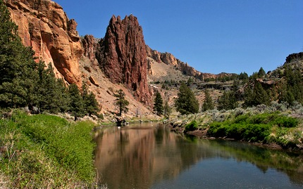 Crooked River from the Smith Rocks trail