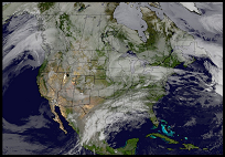 USA Current Cloud Cover Loop
